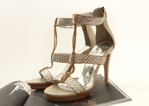 walking strap heel