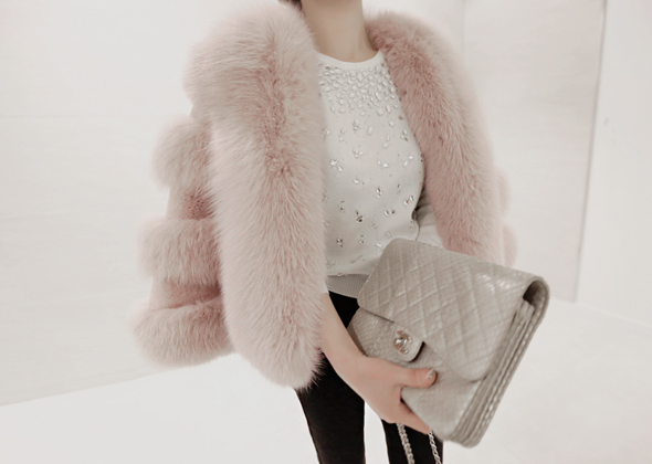 pink fox short jacket