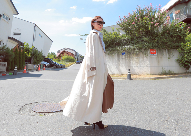 tasha trench coat (beige)