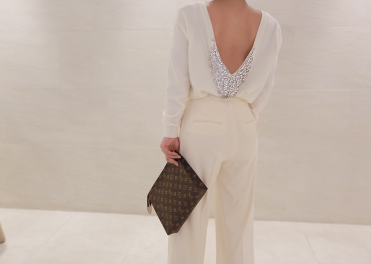 grand cubic knit (ivory)